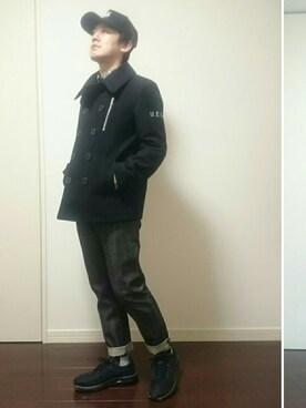 Daiさんの(uniform experiment|ユニフォームエクスペリメント)を使ったコーディネート