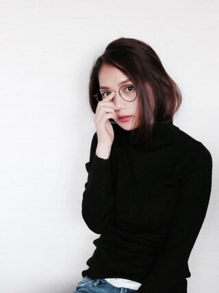 武智志穂さんの(UNIQLO|ユニクロ)を使ったコーディネート