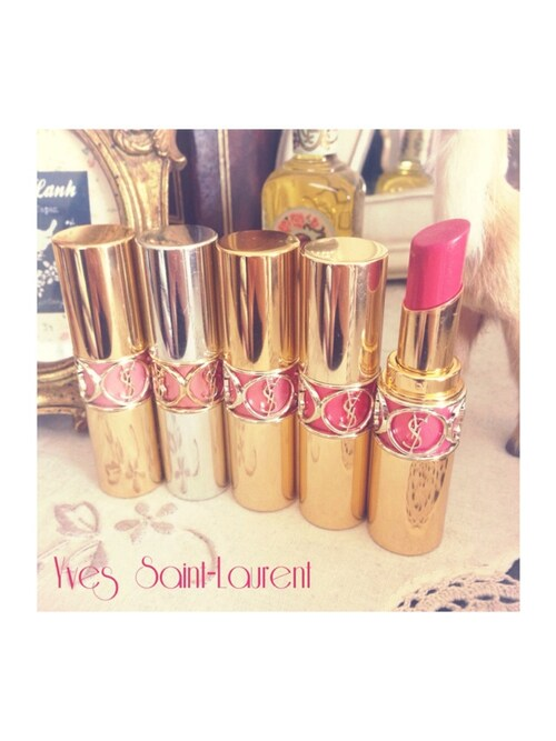 e314e067a08c Non さんの「Yves Saint Laurent Beauty Rouge Volupté Shine - 13 Pink In
