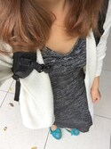 「FOREVER 21 Marled Midi Dress(Forever 21)」 using this ちい looks