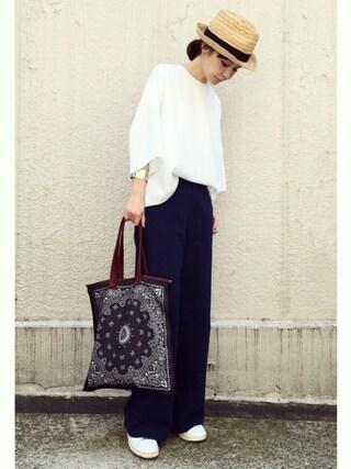 ari☆さんの「adidas originals アディダス stan smith スタンスミス black(adidas originals|アディダスオリジナルス)」を使ったコーディネート