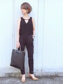 「FOREVER 21 Faux Leather Tote(Forever 21)」 using this TOMOKA   looks