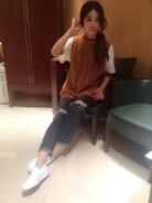 カジュアルDAY��♡ キャメルのニットがお店と同化������  秋hairにチェンジはお済みでしょうか?是非ご予約お待ちしてます(^^)