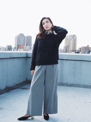 MURUA本部|小竹麻美さんの(MURUA|ムルーア)を使ったコーディネート
