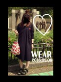 「PLAY Comme des Garcons® cardigan(Comme des Garcons)」 using this F⋓-K△ looks