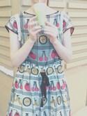 mame\☺︎/さんの「☆フルーツバスケットJQ      後ろあきドレス☆(peu pres|プープレ)」を使ったコーディネート