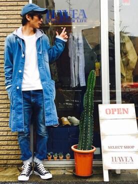 yuumaさんの「Leyline zip parka(Leyline|レイライン)」を使ったコーディネート