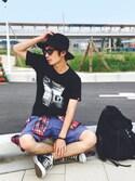 yuumaさんの「CONVERSE / CVS ALL STAR  HI(CONVERSE|コンバース)」を使ったコーディネート
