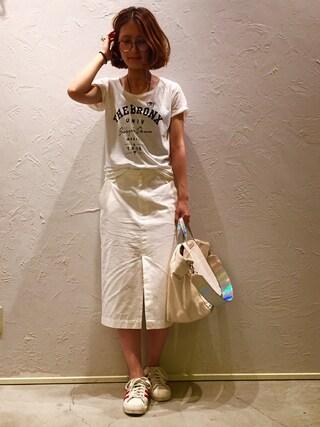 actuel 池袋esola店|nozomiさんの(INTERPLANET WINGS|インタープラネットウィング)を使ったコーディネート