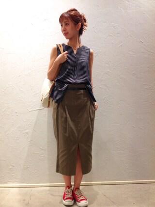 actuel 池袋esola店|nozomiさんの(actuel|アクチュエル)を使ったコーディネート