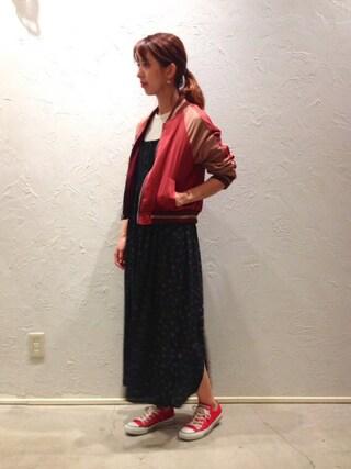 actuel 池袋esola店 nozomiさんの(actuel アクチュエル)を使ったコーディネート