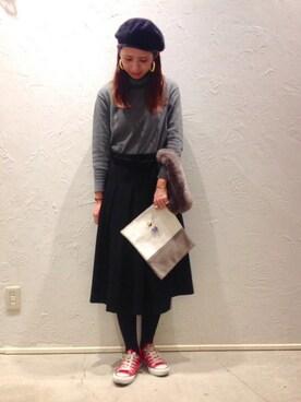 actuel 池袋esola店|nozomiさんのコーディネート