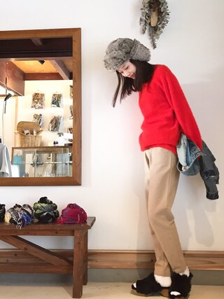 「JOGGING PANTS 14A(A.P.C.)」 using this mio looks