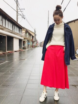 「SAKAYORI / ダブルクロスアシンメトリキュロット(sakayori)」 using this mio looks