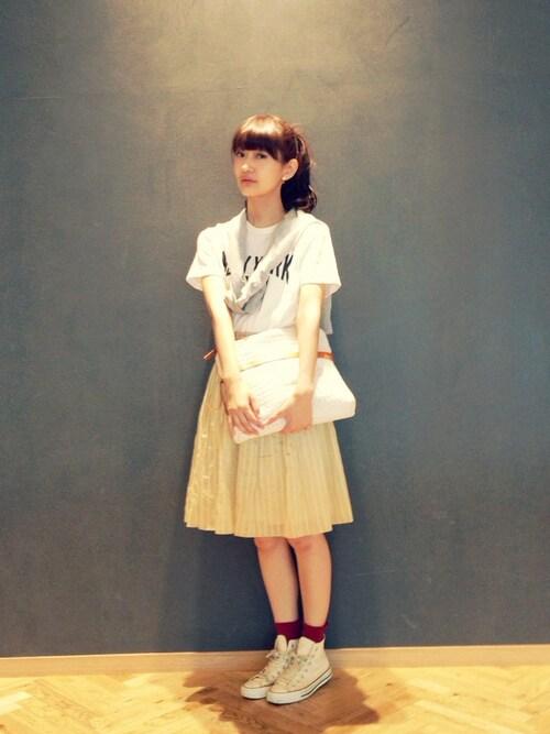 夏の定番♡Tシャツで簡単・お気軽コーデをマスターしなくっちゃ!