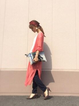 Natsu♡さんの(TOMORROWLAND|トゥモローランド)を使ったコーディネート