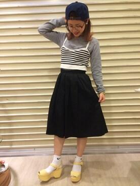 RANDA 横浜PORTA店 moe_iwamotoさんの(RANDA ランダ)を使ったコーディネート