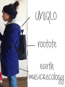 makochairさんの(earth music&ecology|アースミュージックアンドエコロジー)を使ったコーディネート