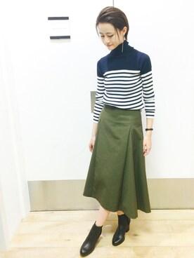 Abahouse Devinette Luxe 新宿高島屋店 O-chanさんの(36Quatre-Neuf カトルナフ)を使ったコーディネート