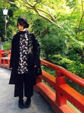 Abahouse Devinette Luxe 新宿高島屋店|O-chanさんの「タートルニット(36Quatre-Neuf)」を使ったコーディネート