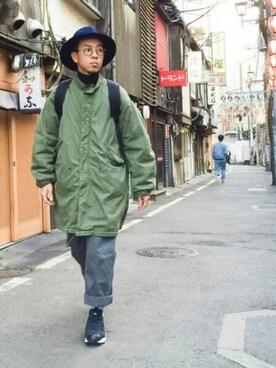 Ken Matsudaさんの(VINTAGE ヴィンテージ)を使ったコーディネート