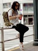 タケダヒロタカ★★★さんの「【LAB】 WALLMUG TUMBLER BEARL / ウォールマグタンブラー バール(KATHARINE HAMNETT LONDON|キャサリンハムネットロンドン)」を使ったコーディネート