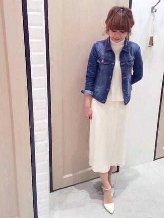 Sakurai Miuさんの「Gジャン(UNRELISH|アンレリッシュ)」を使ったコーディネート