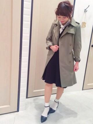 Sakurai Miuさんの「ニットアップ風ワンピ(UNRELISH|アンレリッシュ)」を使ったコーディネート