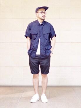 BEAMS MEN|Ikuo Mitaniさんの(BEAMS PLUS|ビームスプラス)を使ったコーディネート