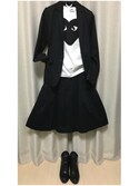 「Comme des Garçons 'Heart Face' Graphic T-Shirt(Comme des Garcons)」 using this おいもちん。 looks