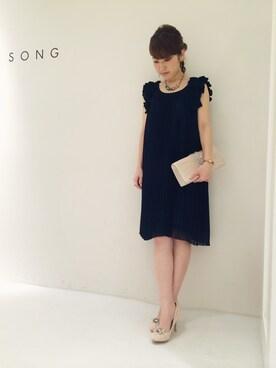 CROON A SONG 神戸大丸(レディス&メンズ)|Wさんの(CROON A SONG|クルーンアソング)を使ったコーディネート