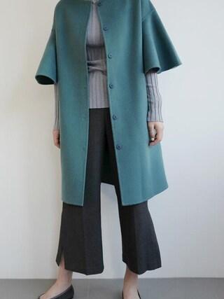 holicholic|holicholicさんの「Bluenコート」を使ったコーディネート