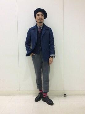 ビームス 広島|haraShinさんの(ts(s)|ティーエスエス)を使ったコーディネート