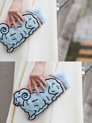 RUNWAY channel PAMEO POSE|PAMEO POSEさんの「COUNT SHEEP CLUCH BAG(PAMEO POSE|パメオポーズ)」を使ったコーディネート