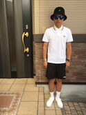 「Fred Perry Regular Fit Twin Tipped Polo(Fred Perry)」 using this sagari515 looks
