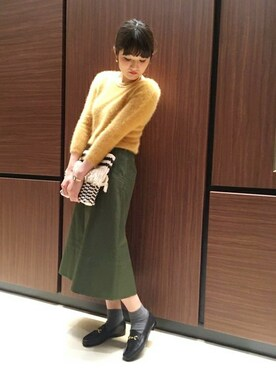 SHIPS Decent Loom ルミネ新宿店|根本さんの(SHIPS for women|シップスフォーウィメン)を使ったコーディネート