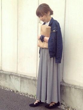 maiko さんの「【追加】10OZ ソフトデニムGジャン_#(JOURNAL STANDARD|ジャーナルスタンダード)」を使ったコーディネート