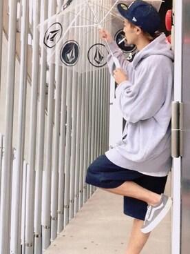 (VOLCOM) using this HidekiYoshioka looks