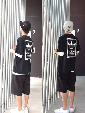 (adidas originals) using this HidekiYoshioka looks