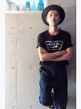 (VANS) using this HidekiYoshioka looks