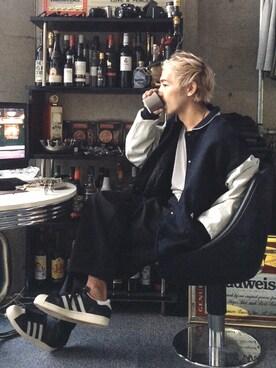 (adidas originals) using this HidekiYoshioka looks