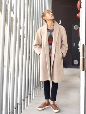 (CHEAP MONDAY) using this HidekiYoshioka looks