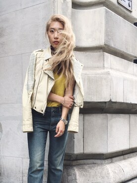 (madewell) using this JENNIFER CHEN looks