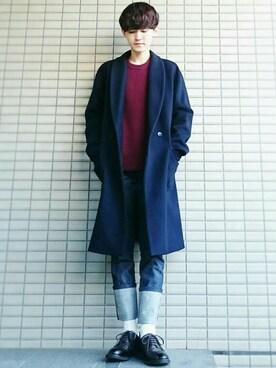 alfredo BANNISTER 本社スタッフ 佐藤篤さんのコーディネート