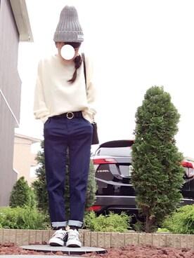 aaachan♡*さんの「2wayサッチェルバッグ(HITCH HIKE MARKET)」を使ったコーディネート