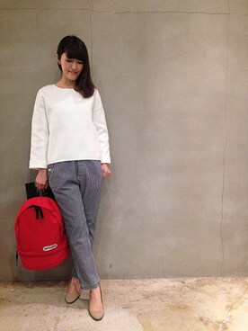 Article girl|Articlegirlさんの「《予約商品》holiday×OUTDOOR BACKPACK(holiday|ホリデイ)」を使ったコーディネート
