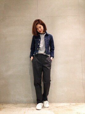 Article girl|Articlegirlさんの「Standard Denim Jacket One Wash(BED&BREAKFAST)」を使ったコーディネート