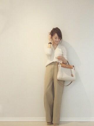 田中亜希子さんの(IENA|イエナ)を使ったコーディネート