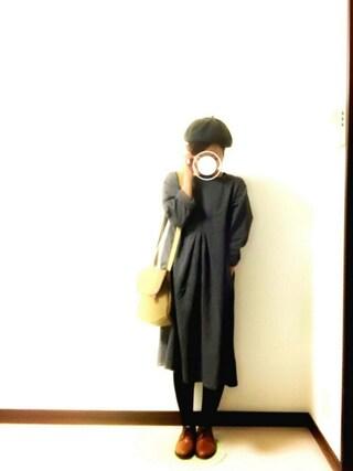Rさんの「【30th】ワンピース(Samansa Mos2|サマンサ モスモス)」を使ったコーディネート