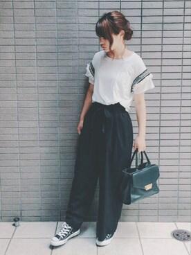 三橋栄香さんのコーディネート